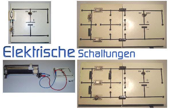 elektrische schaltungen physik der klasse 6. Black Bedroom Furniture Sets. Home Design Ideas